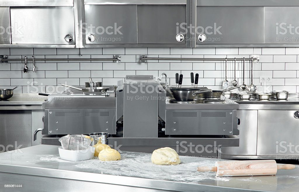 Professional Kitchen stock photo
