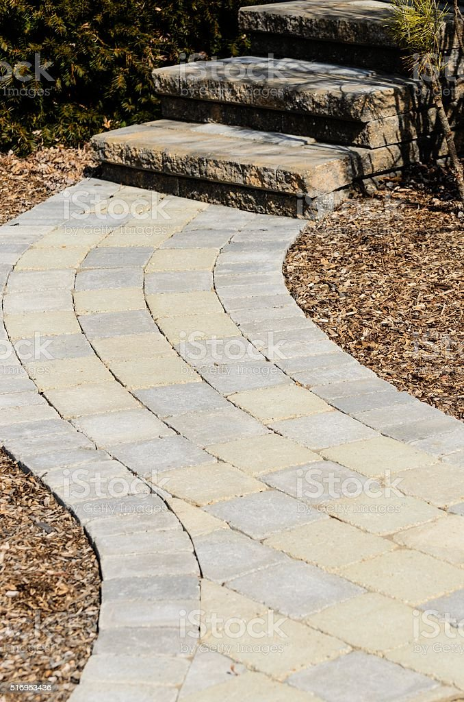 Professional Landscaping stock photo