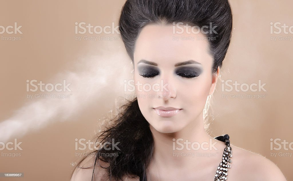 professional make up stock photo