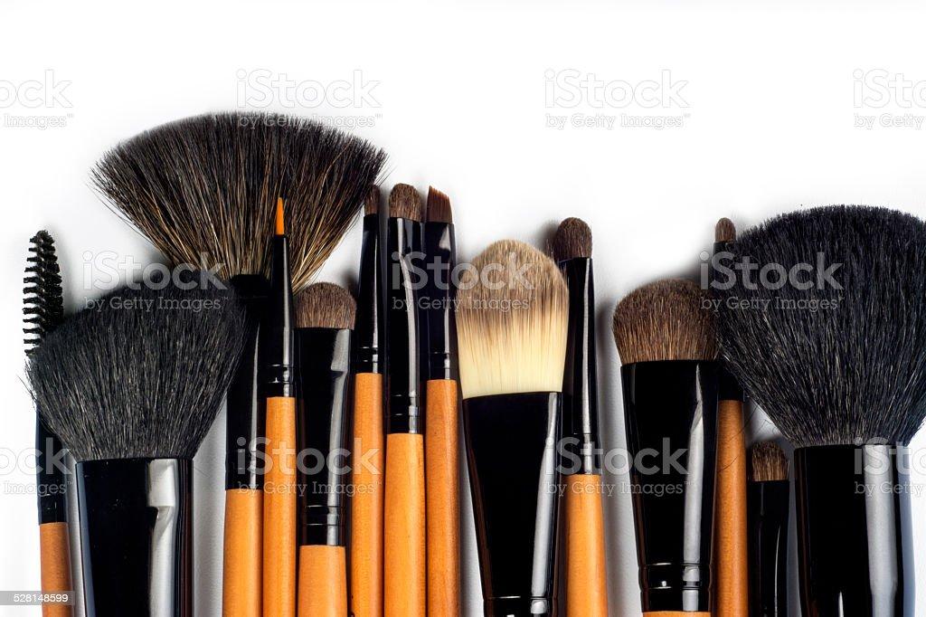 Professional make-up brush stock photo