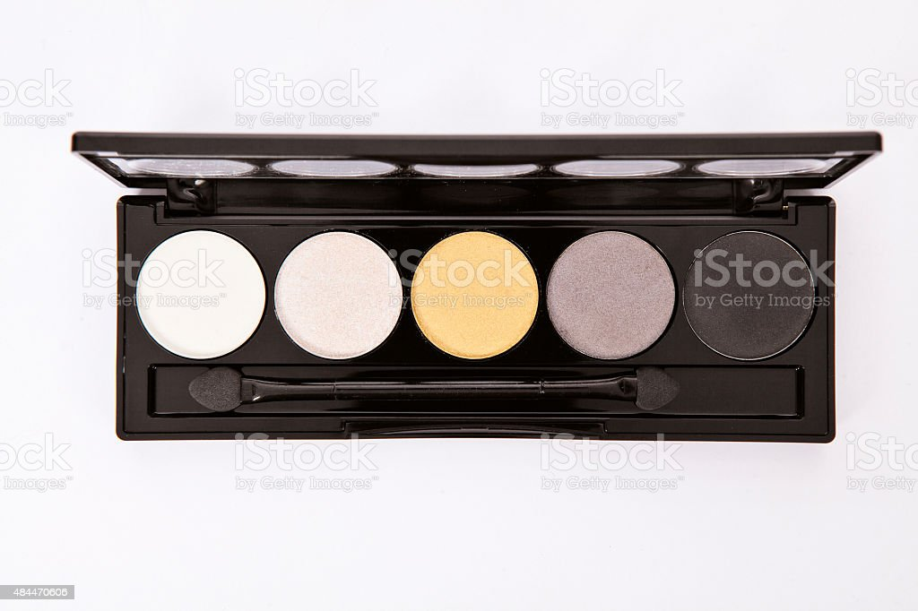 Professional makeup collection kit. stock photo