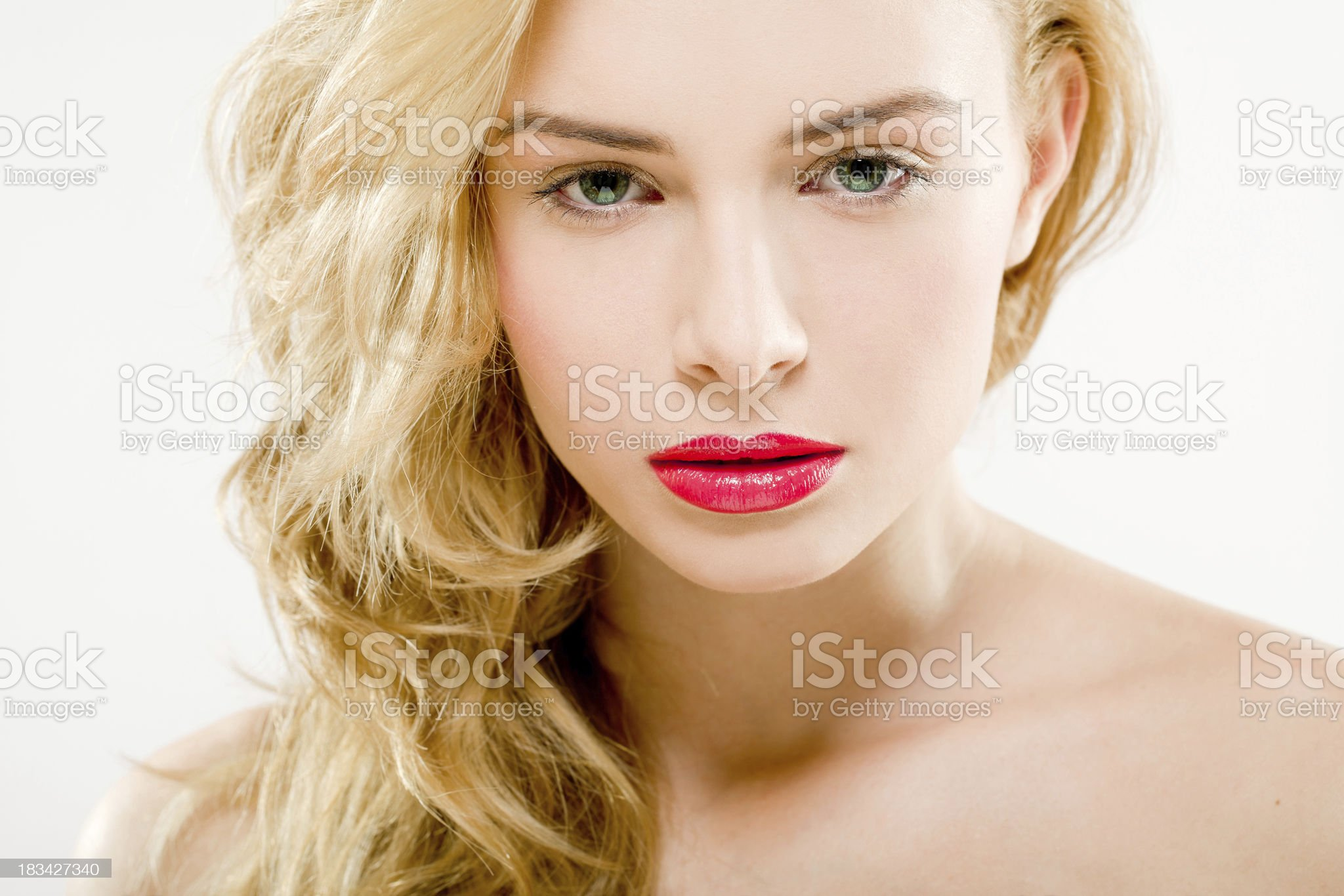 professional makeup royalty-free stock photo
