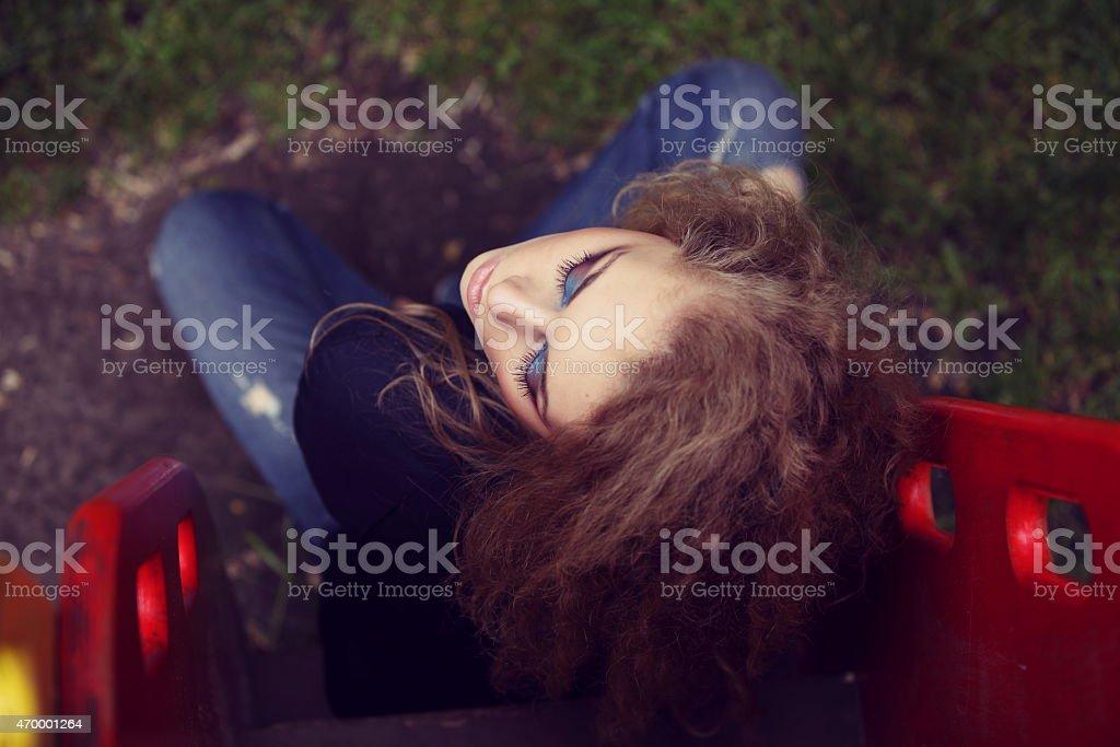 Professionelles Make-up Lizenzfreies stock-foto