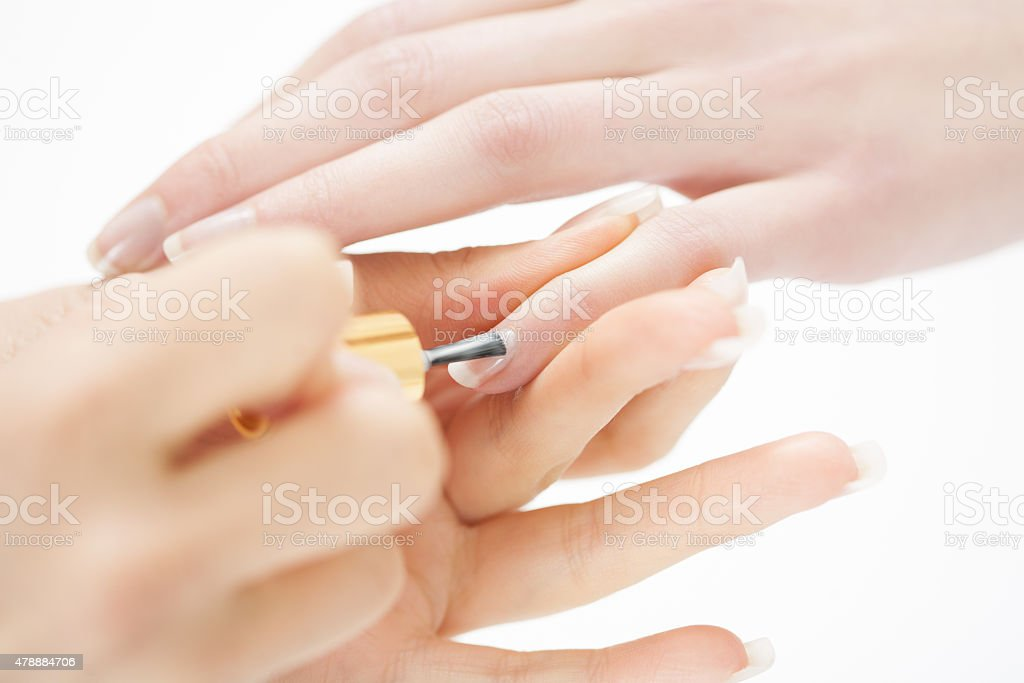 Professional Manicure stock photo