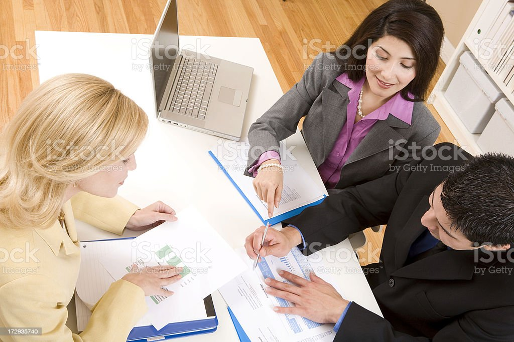 Professional Meeting royalty-free stock photo