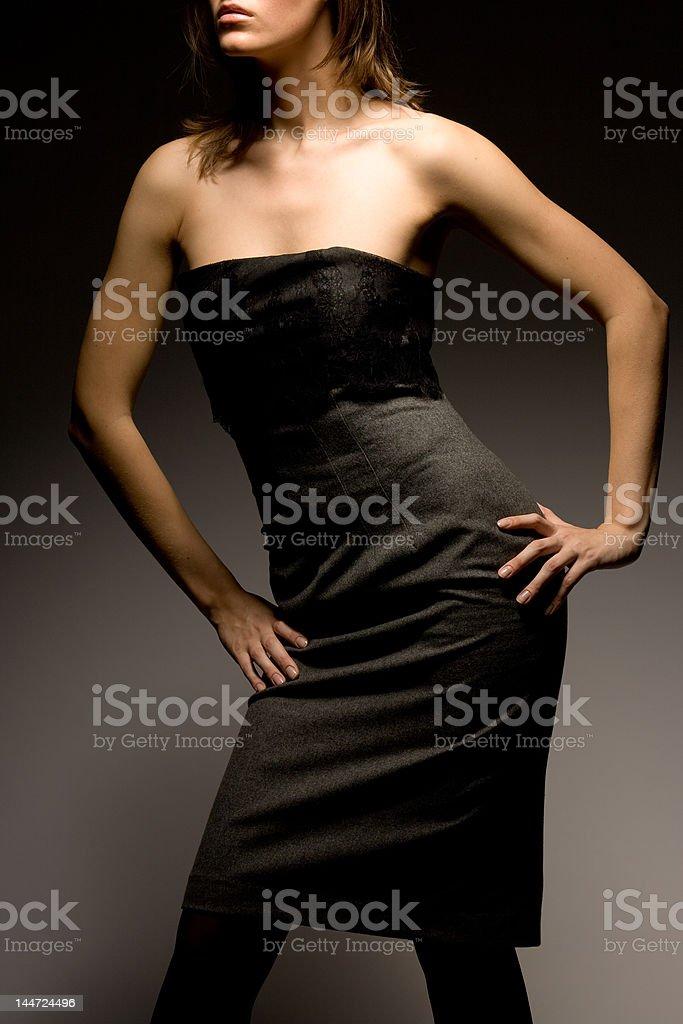 Professional model 5 royalty-free stock photo
