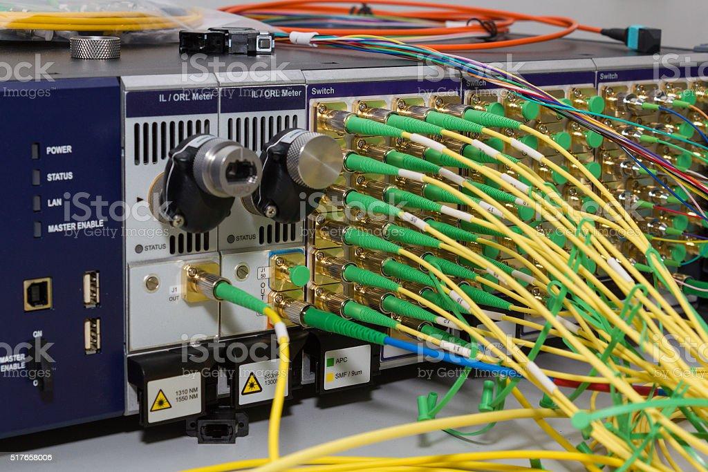 professional modern test equipment stock photo