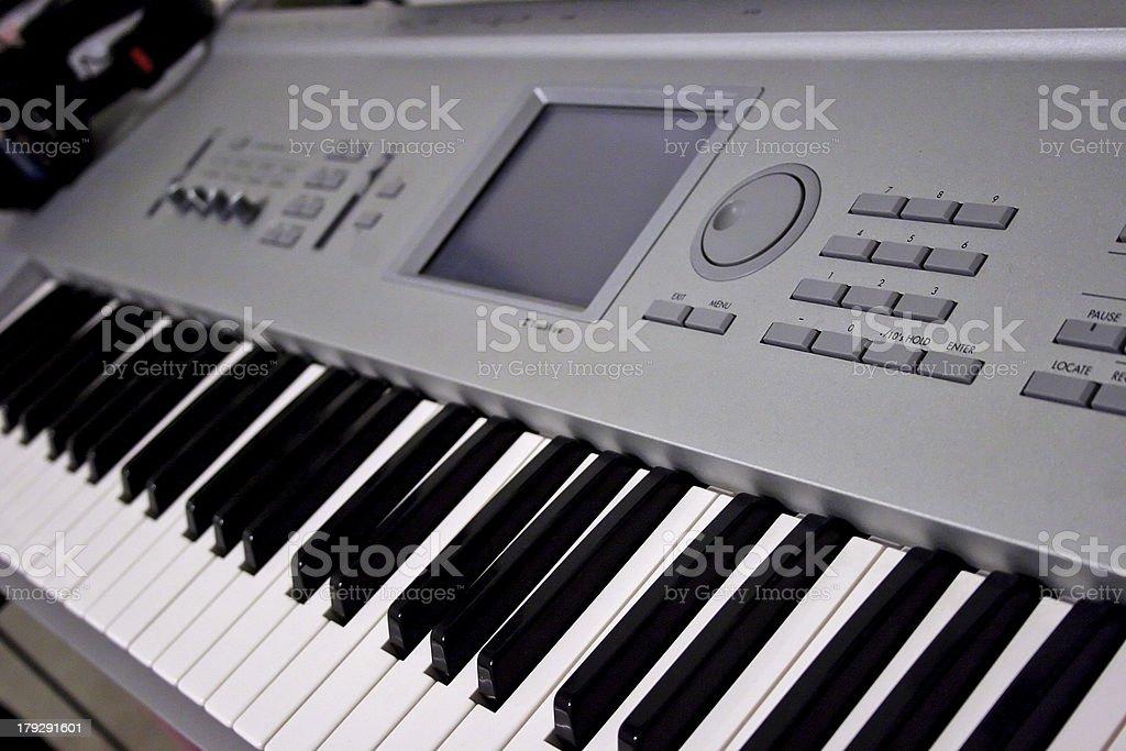 Professional Music Workstation royalty-free stock photo