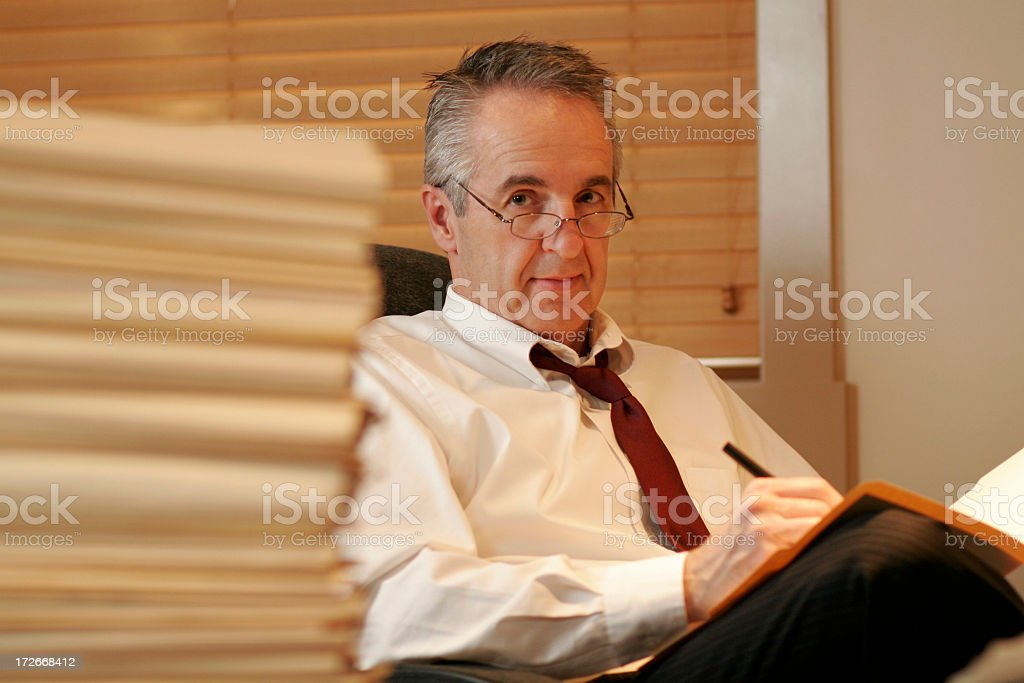 Professional Occupation royalty-free stock photo