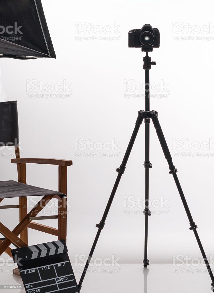 Professional photostudyo stock photo