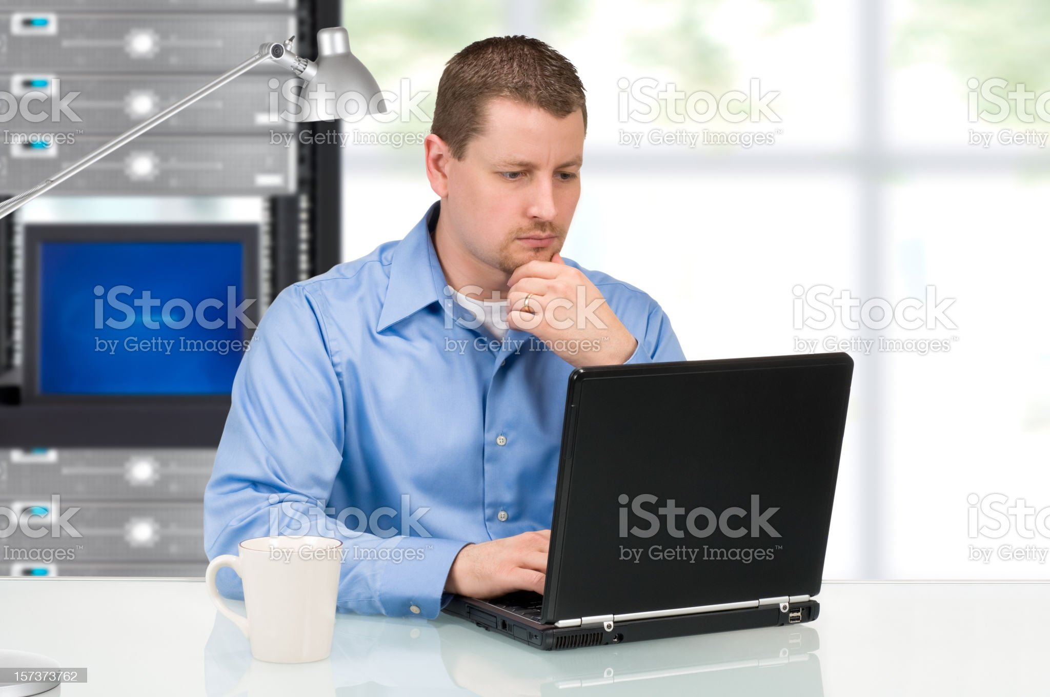 IT Professional royalty-free stock photo