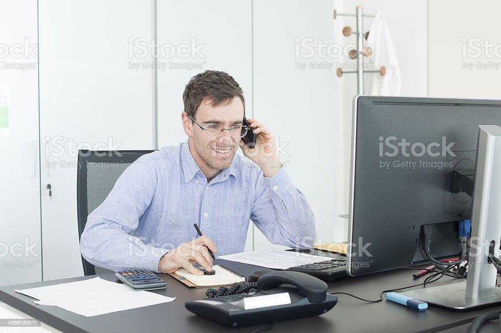 IT Professional stock photo