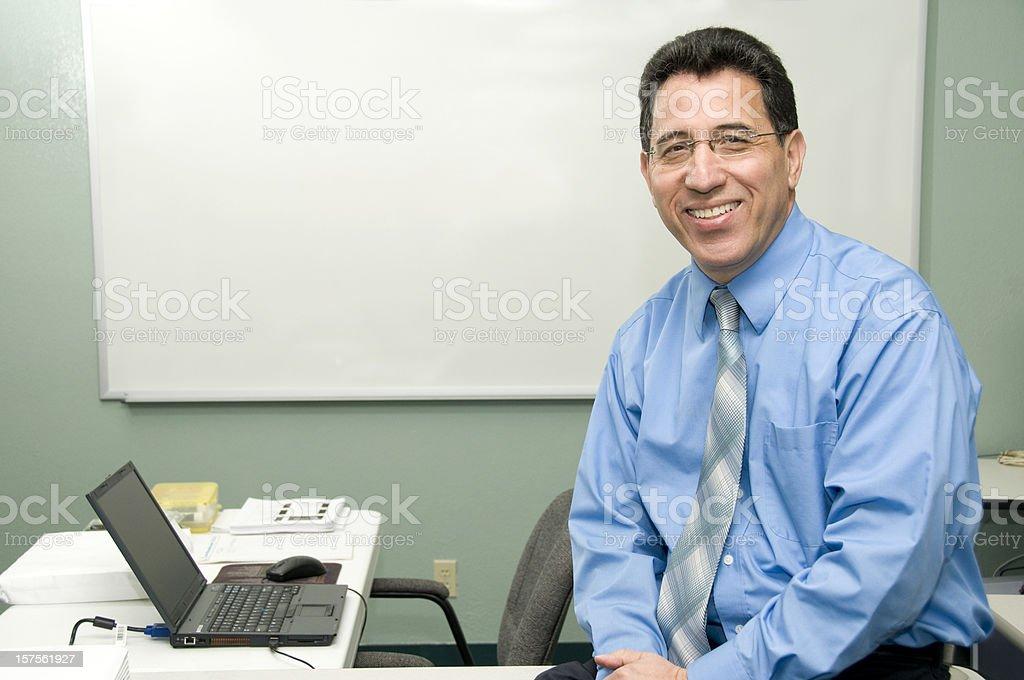 Professional Public Speaker royalty-free stock photo