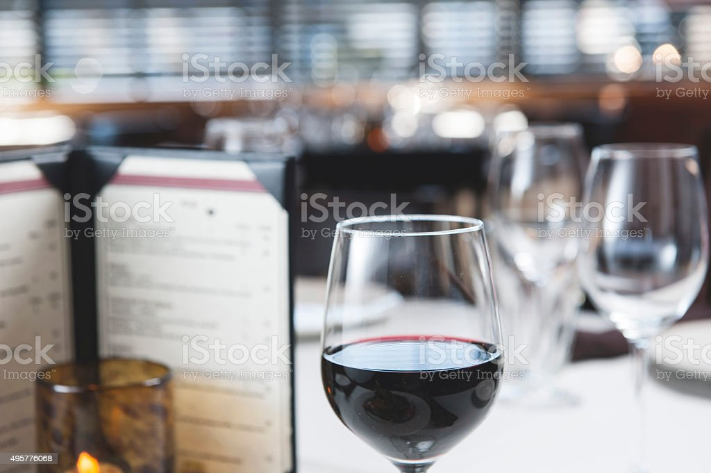 Professional restaurant serving /Food and Drinks concept (Click for more) stock photo