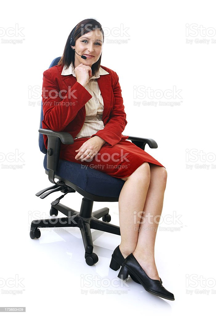 Professional Support royalty-free stock photo