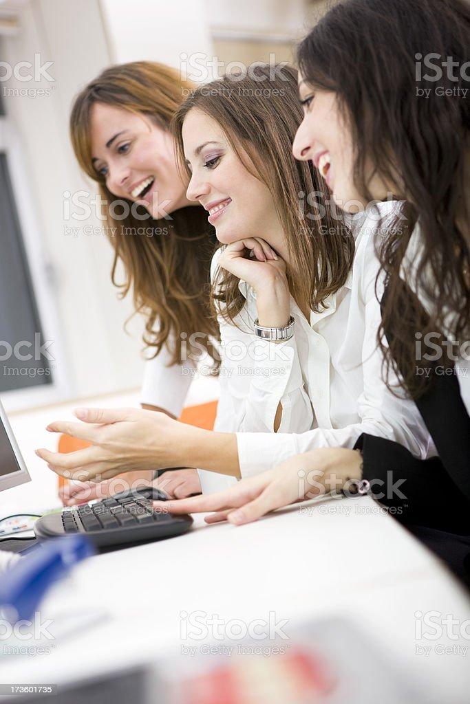 Professional teamwork stock photo