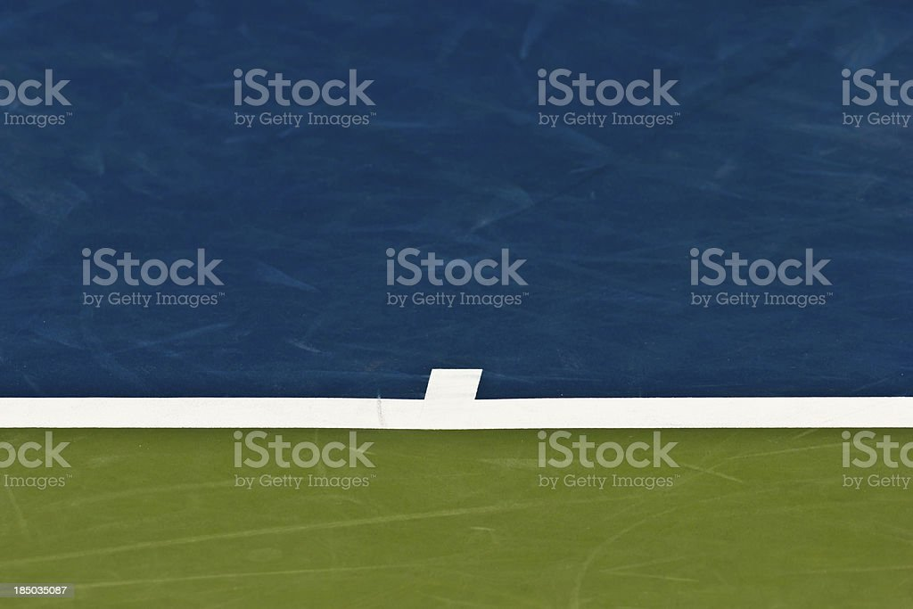 Professional Tennis court detail- Stock Image royalty-free stock photo