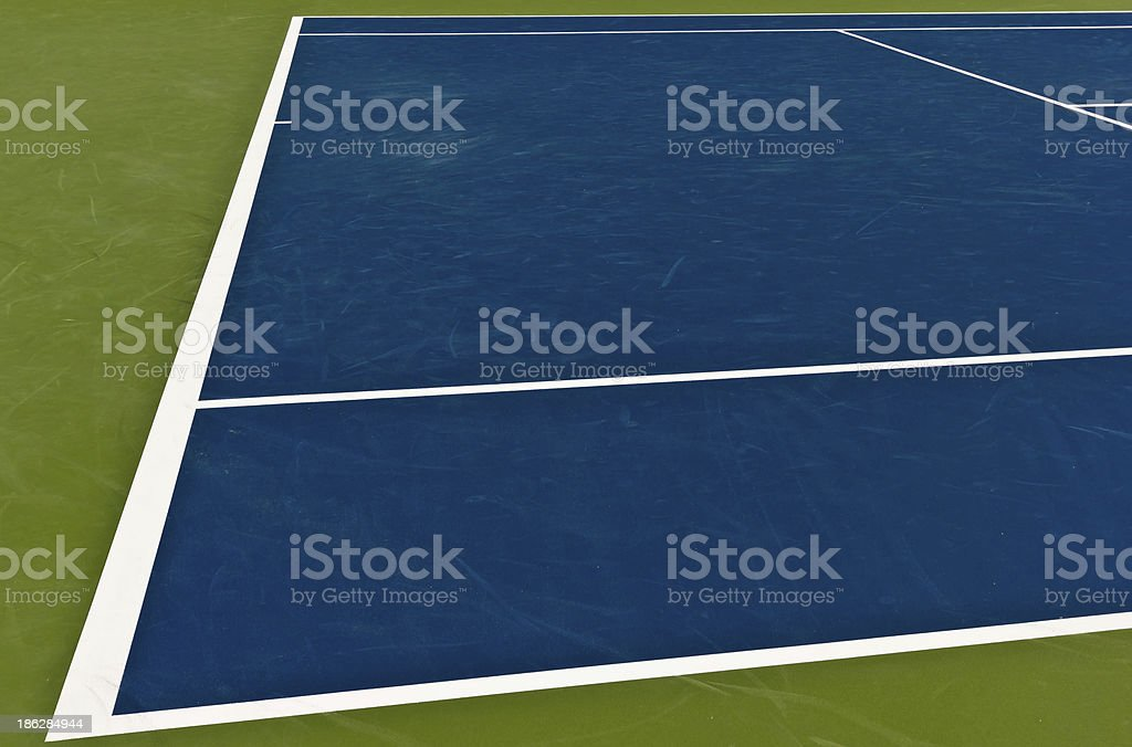 Professional Tennis Court royalty-free stock photo