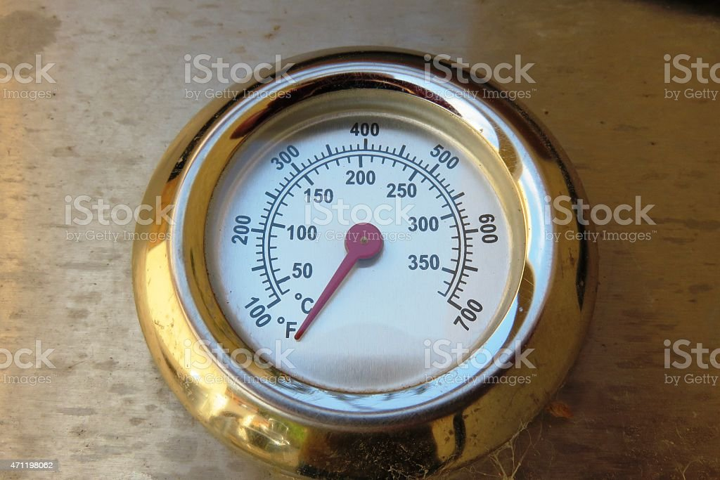 Professional Thermometer stock photo