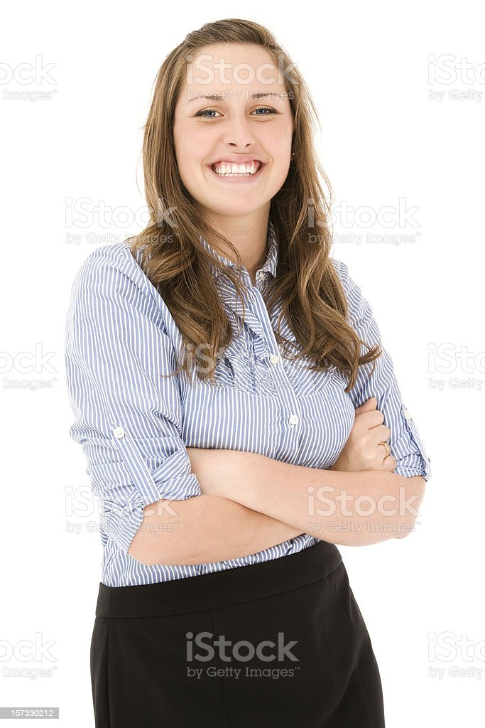 Professional Young woman stock photo
