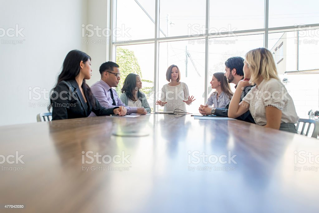 Professionals Business Meeting stock photo