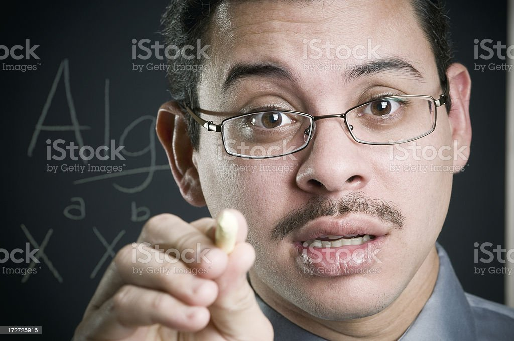 professor dialogue royalty-free stock photo