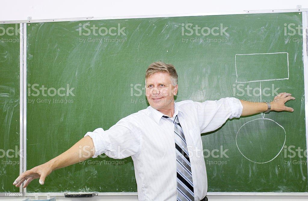Professor royalty-free stock photo