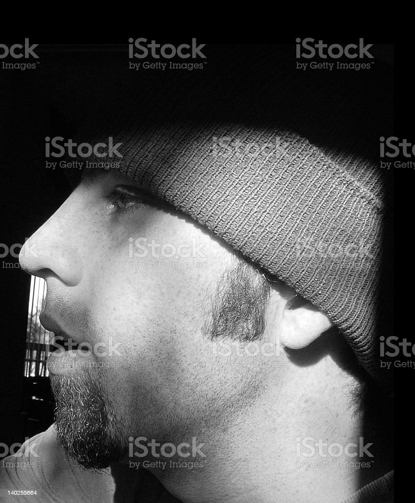 Profile Face royalty-free stock photo