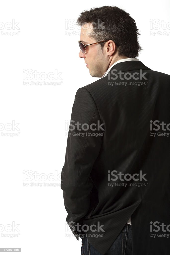 Profile royalty-free stock photo
