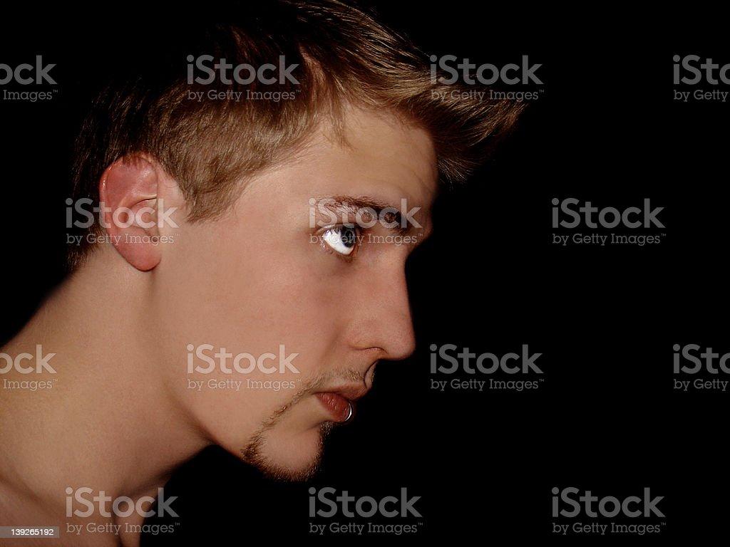 Profile Portrait royalty-free stock photo