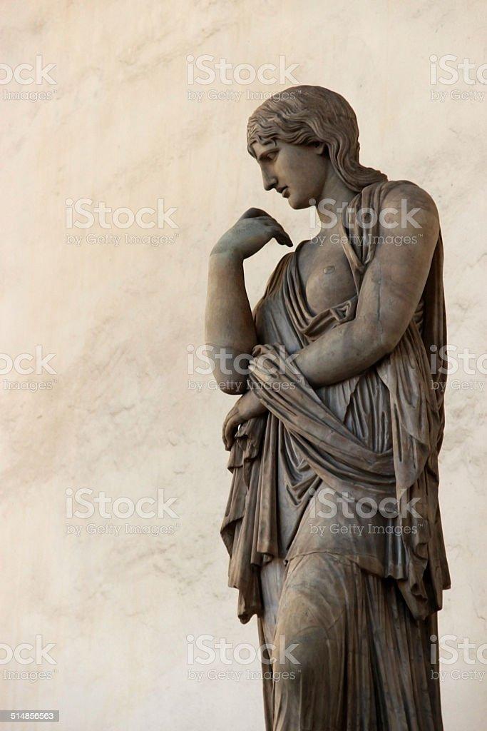 profile sculpture stock photo