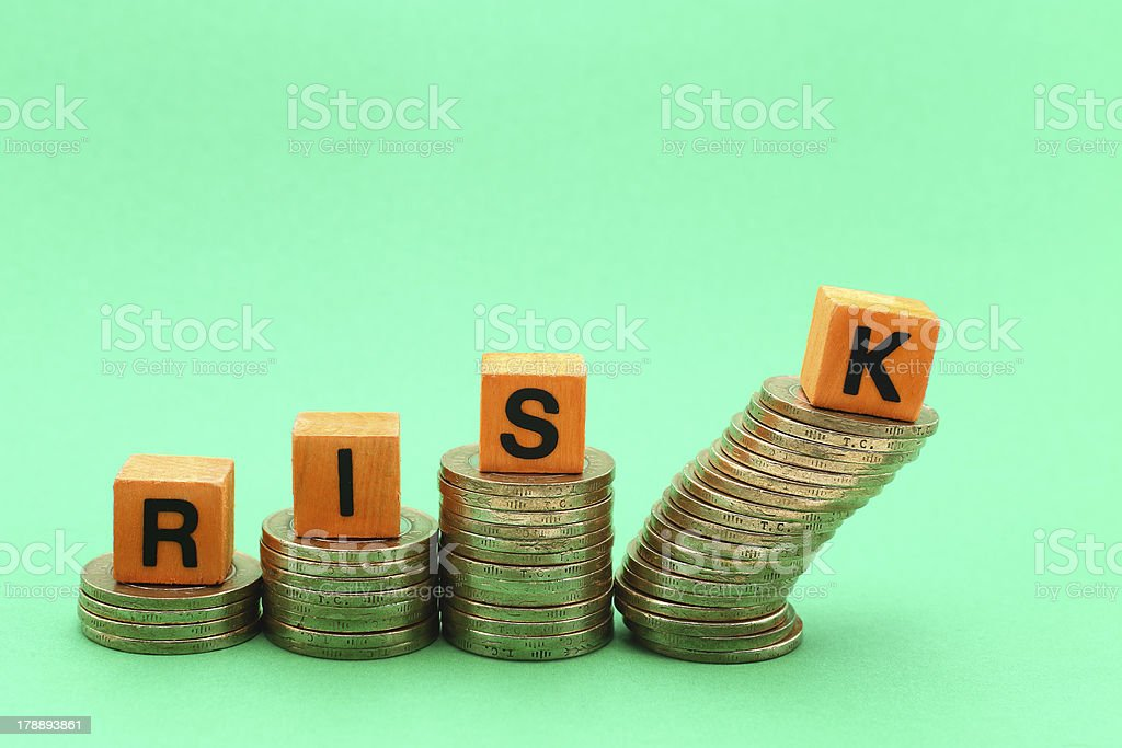 Profit and Risk stock photo