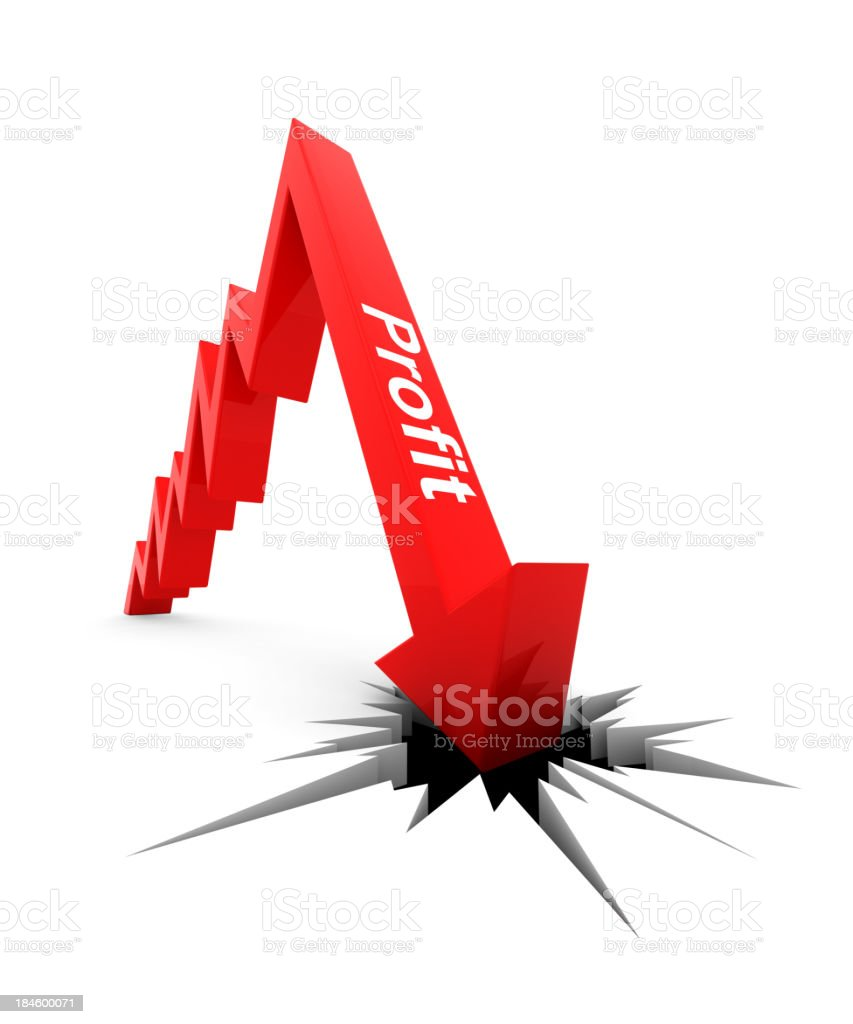 Profit Chart royalty-free stock photo