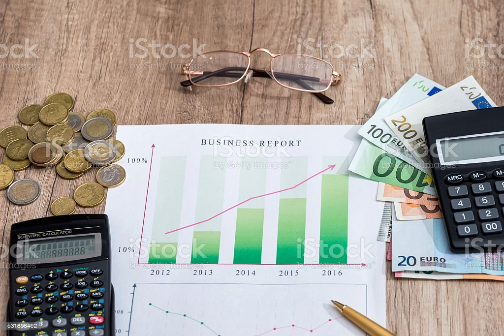 Profit concept stock photo