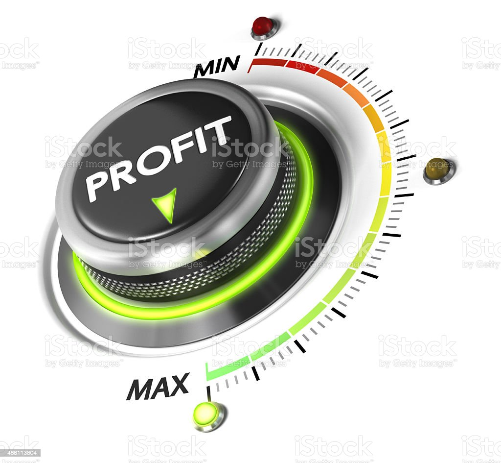 Profit, Finance Concept stock photo