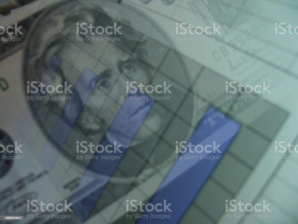 Profit Graph stock photo