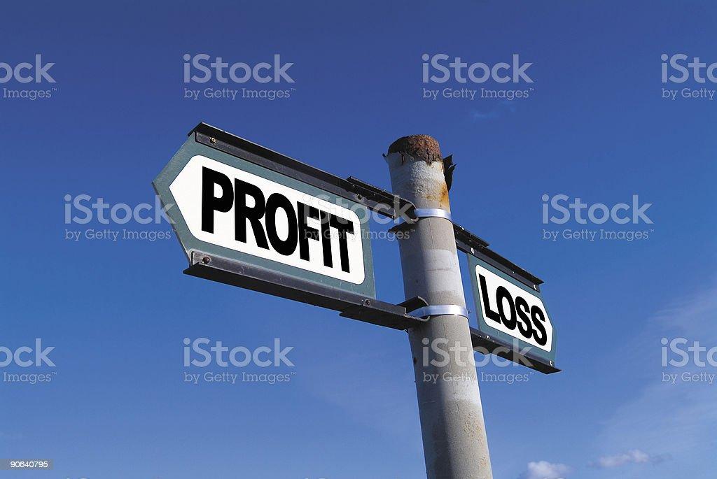 Profit or Loss stock photo