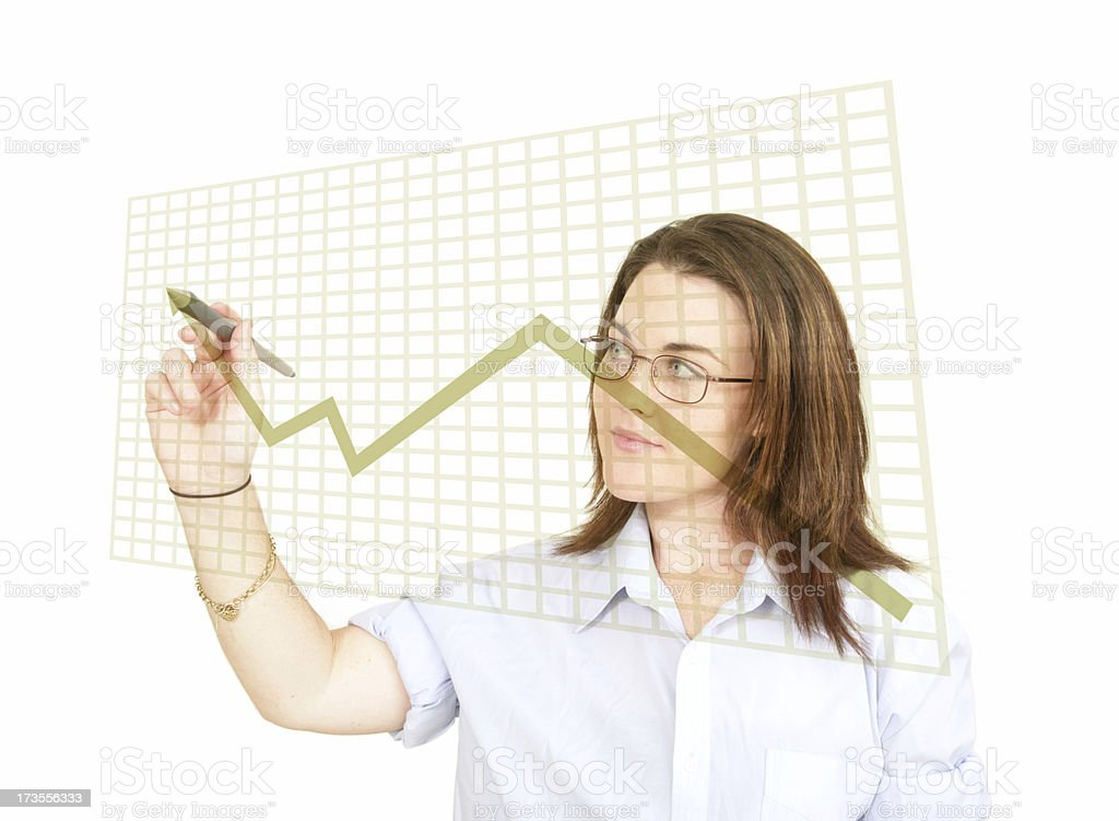 Profits are Up stock photo