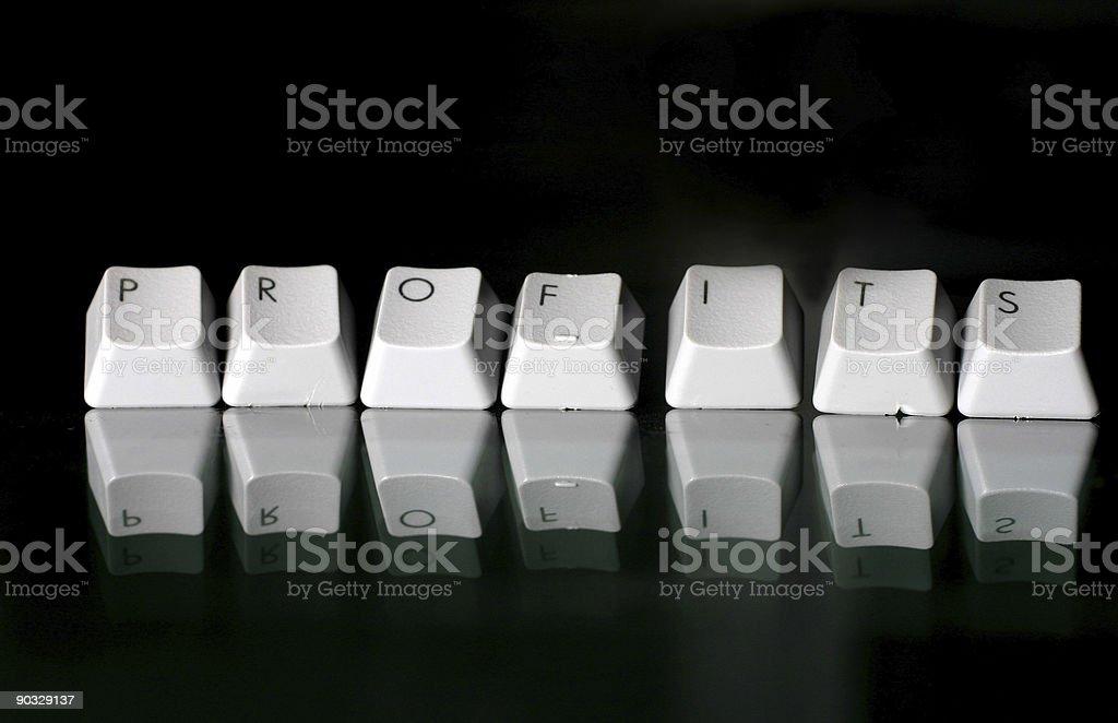 Profits stock photo