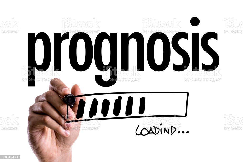 Prognosis stock photo