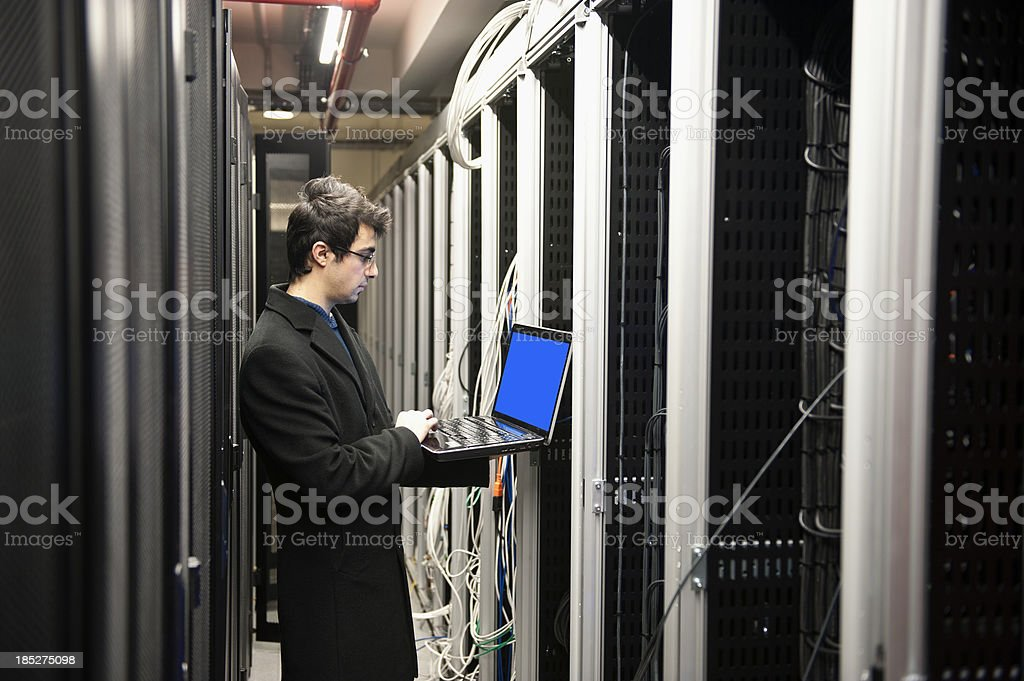 IT Programmer royalty-free stock photo