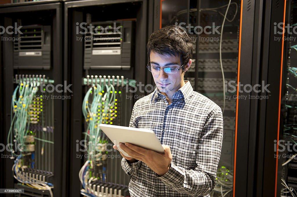 IT Programmer royalty-free stock photo