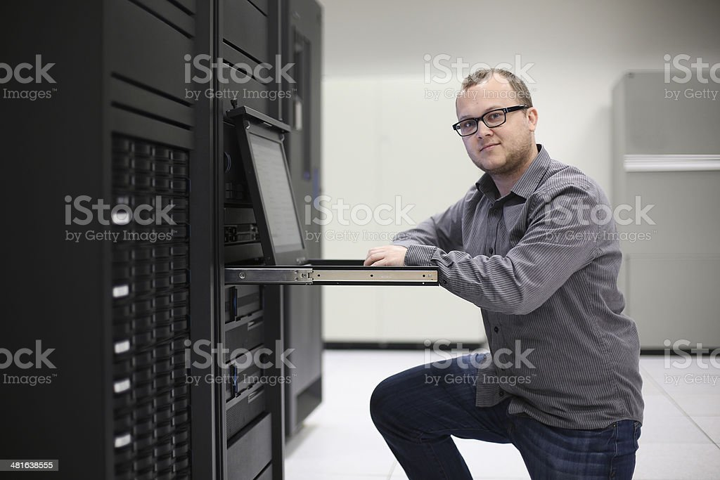 IT Programmer stock photo