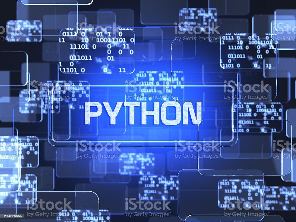 Programming concept stock photo