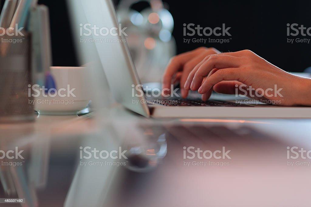 Programming stock photo