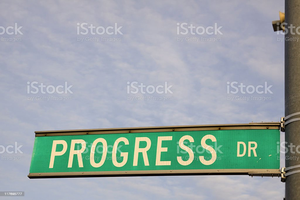 Progress Dr. royalty-free stock photo