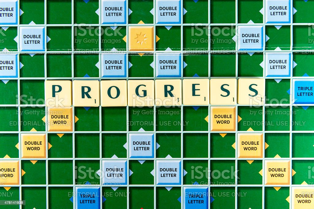 progress stock photo