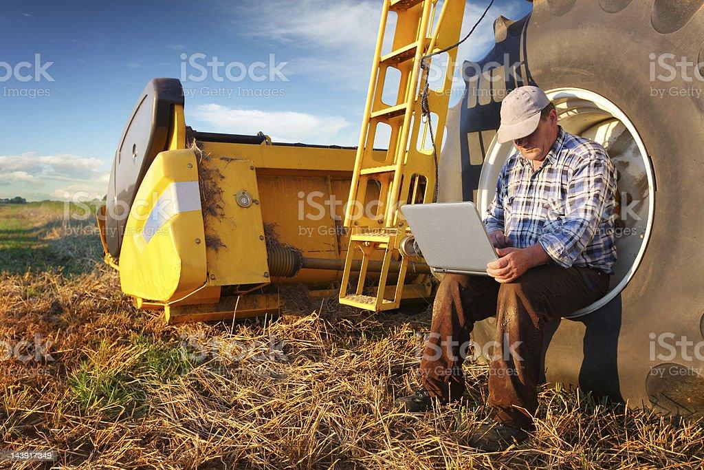 Progressive farmer stock photo