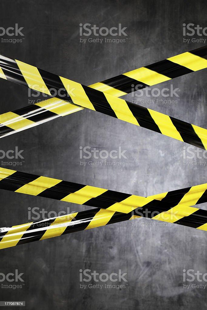 Prohibited Area stock photo