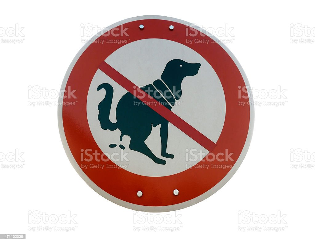 Prohibition Sign (with clipping path) royalty-free stock photo